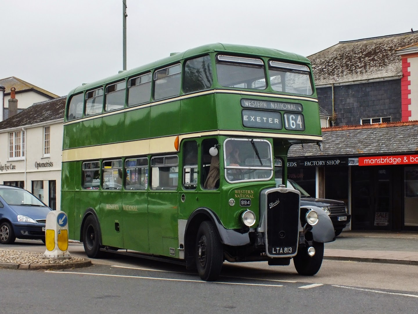 small resolution of my final run of the day was on roger burdett s excellent western national 994 lta 813 a 1950 ks5g showing how with the longer length ecw also tidied up