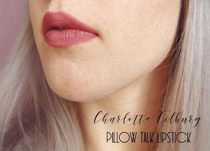 charlotte tilbury pillow talk lipstick