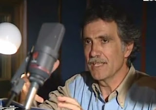Claudio Capone at work behind a microphone