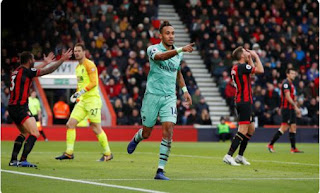 AFC Bournemouth vs Arsenal 1 - 2 Video Gol & Highlights