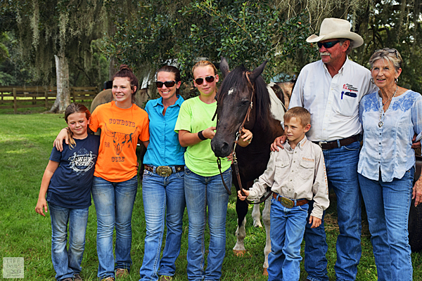 The Hobby family of Rockin' H Ranch in Levy County, FL