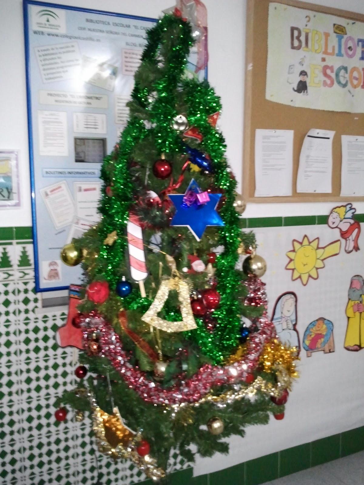 Decorado Pueblo Navidad Primaria