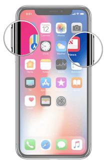 Cara Mengambil Screenshot di iPhone X