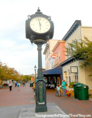 Cape May Town Clock in Cape May, New Jersey
