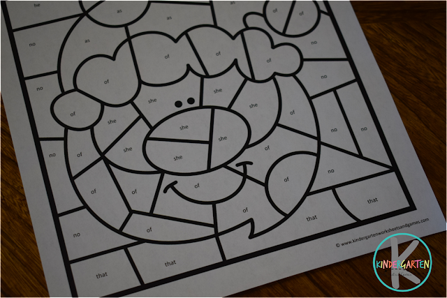 kindergarten worksheets for Christmas