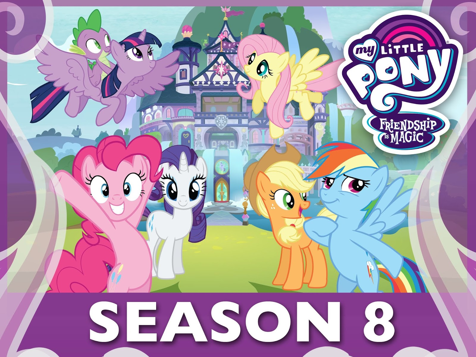 Pony Bé Nhỏ Tình Bạn Diệu Kỳ 8 -My Little Pony Friendship is Magic SS8