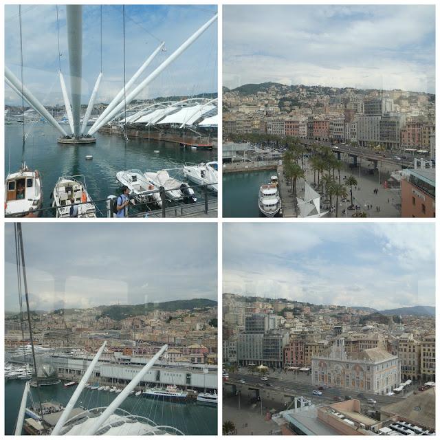 Bigo - elevador panorâmico no porto de Gênova