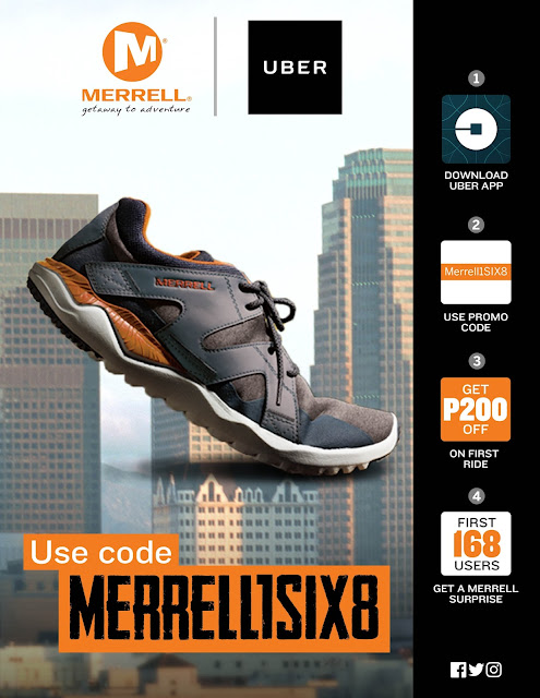 Newest Merrell Shoes and Uber Promo