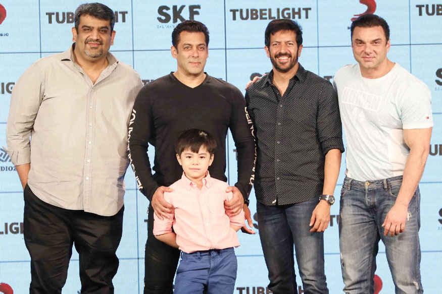 Salman, Matin Rey Tangu and Kabir Khan 'Tubelight ki Night' Promotional Event