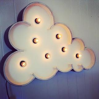 Nubes en habitaciones infantiles