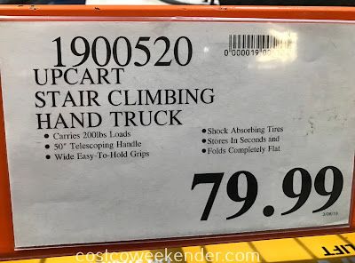 Deal for the UpCart Lift Stair-Climbing Hand Truck at Costco