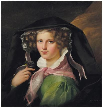 Portrait de Jeune Fille, Marie Adèle Kindt