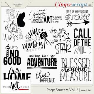 $1 Bake Sale, NEW Word Art Packs, Free Word Art Pack!