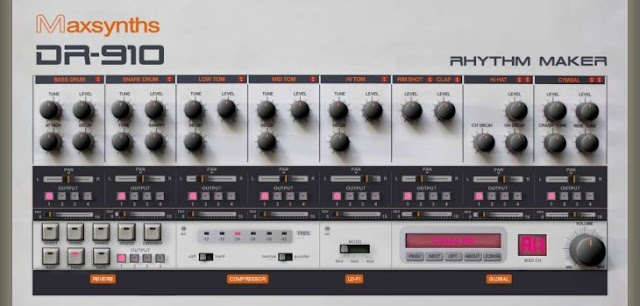 MaxSynths relanza gratis sus plugins VST