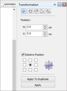 Cara Mudah Menggunakan Comand Bar Transformation Di coreldraw X4
