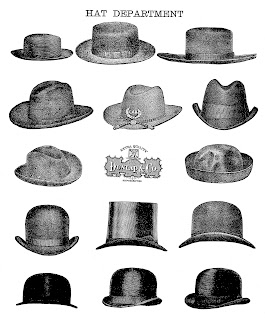 hat men fashion artwork illustration digital download