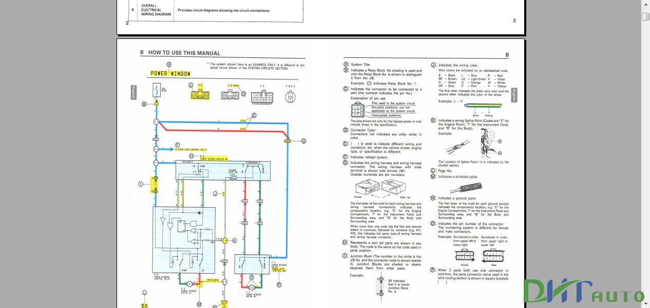AVENSIS    CORONA 1997 ELECTRICAL    WIRING       DIAGRAM     Automotive Library