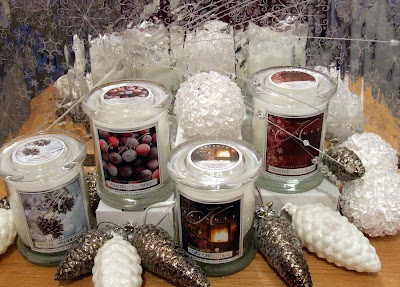 Christmas candles from Kringle
