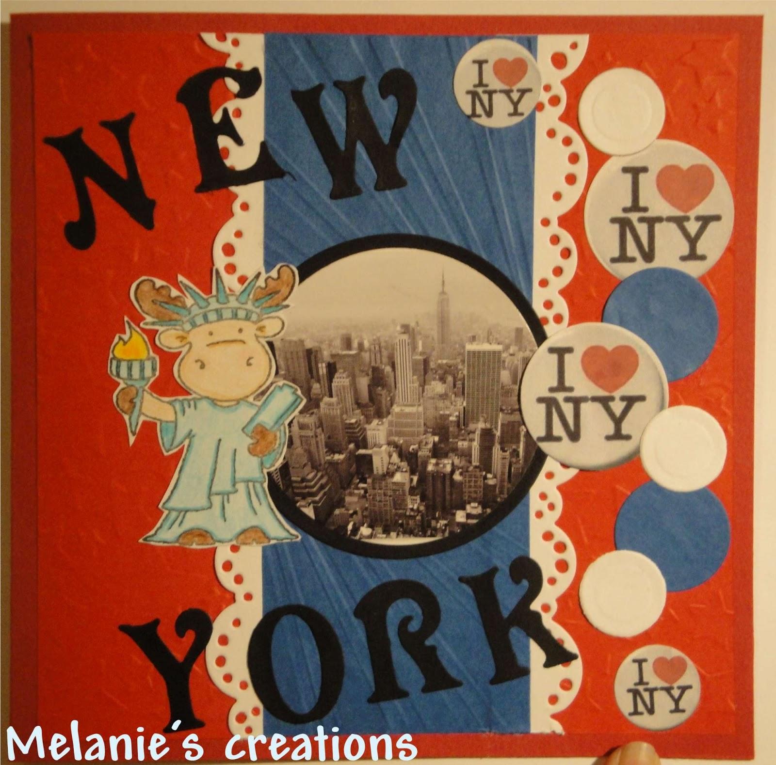 Melanie's Creative World: New York Birthday