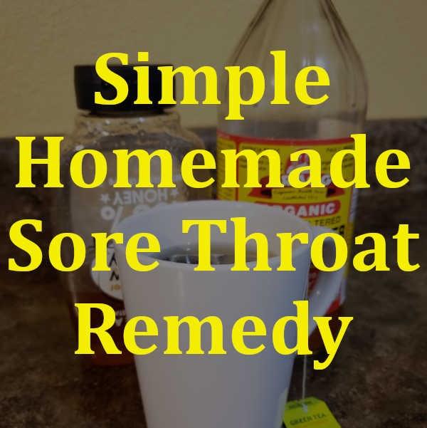 DIY Home Sweet Home: Simple Homemade Sore Throat Remedy