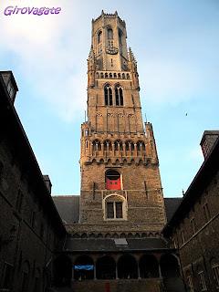 belfort tower bruges belgio