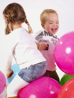 kidsfeestje organiseren leuke spelletjes met ballonnen