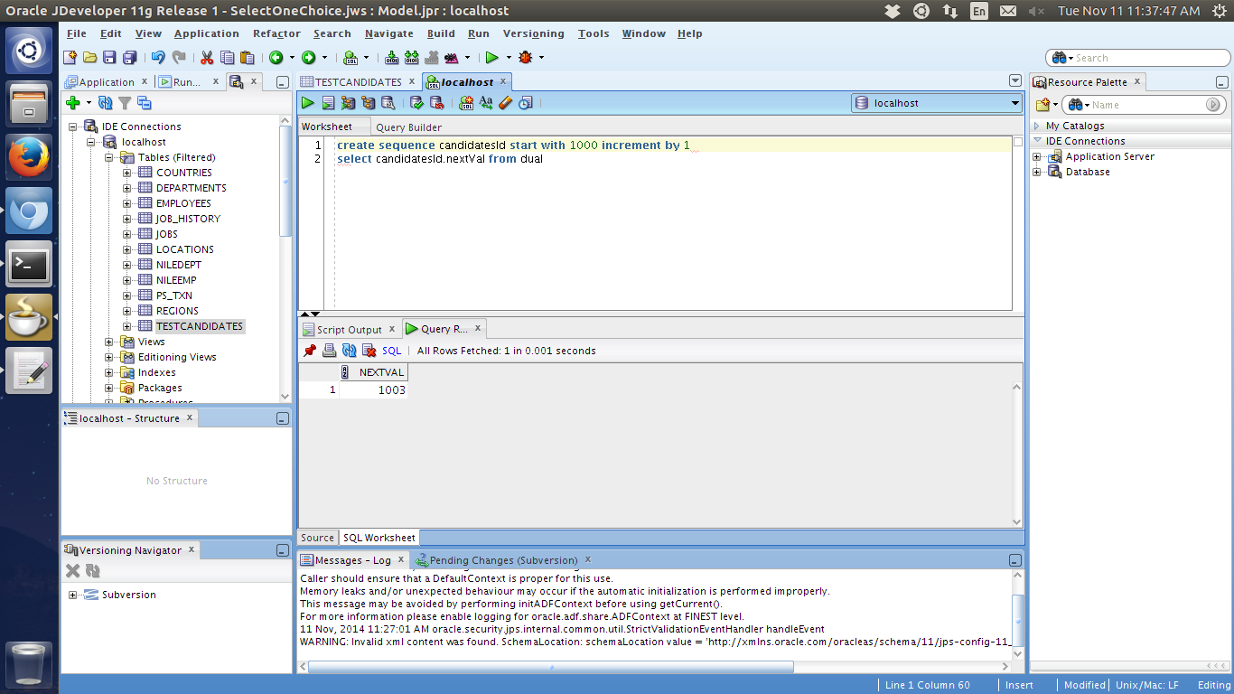 Java Tricks With Pratik Create A Sql Sequence In Oracle
