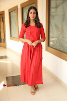 Actress Lavanya Tripathi Latest Pos in Red Dress at Radha Movie Success Meet .COM 0241.JPG