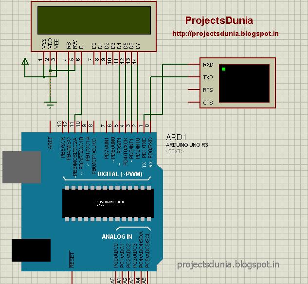 circuit diagram for serial communication