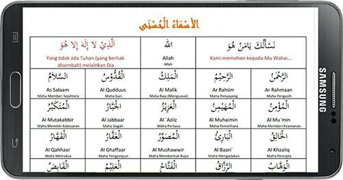 Bacaan Makna Dan Hasiat 99 Nama Asmaul Husna