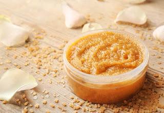 hindistan cevizi yağı şeker peeling