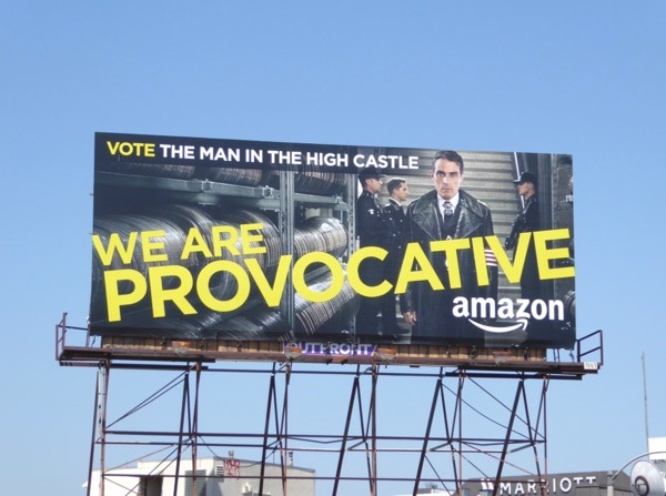 Man in High Castle Provocative season 2 Emmy billboard