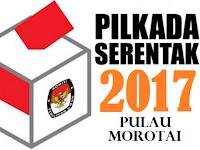Hasil Perolehan Suara Pilkada Pulau Morotai 2017