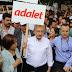 CHP Genel Başkanı Kemal Kılıçdaroğlu 'Adalet Yürüyüşü' yapıyor