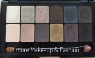 Maybelline The Rock Nudes Lidschattenpalette - Review
