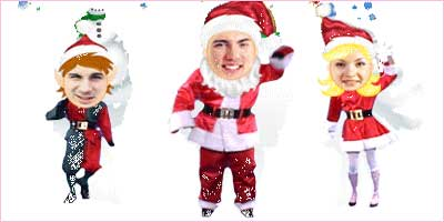 Merry Christmas Santa Claus Picture Photo