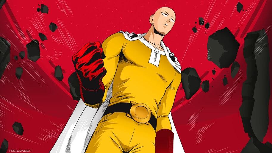 Saitama, One Punch Man, 4K, #6.806