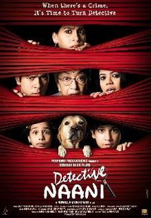 Detective Naani 2009 Hindi HDRip 480p 350mb bollywood movie Detective Naani 300mb compressed small size 480p hdrip free download or watch online at world4ufree.cc