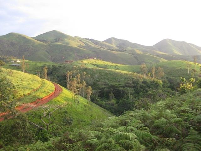 Montagnes du Grass Fields Ouest du Cameroun