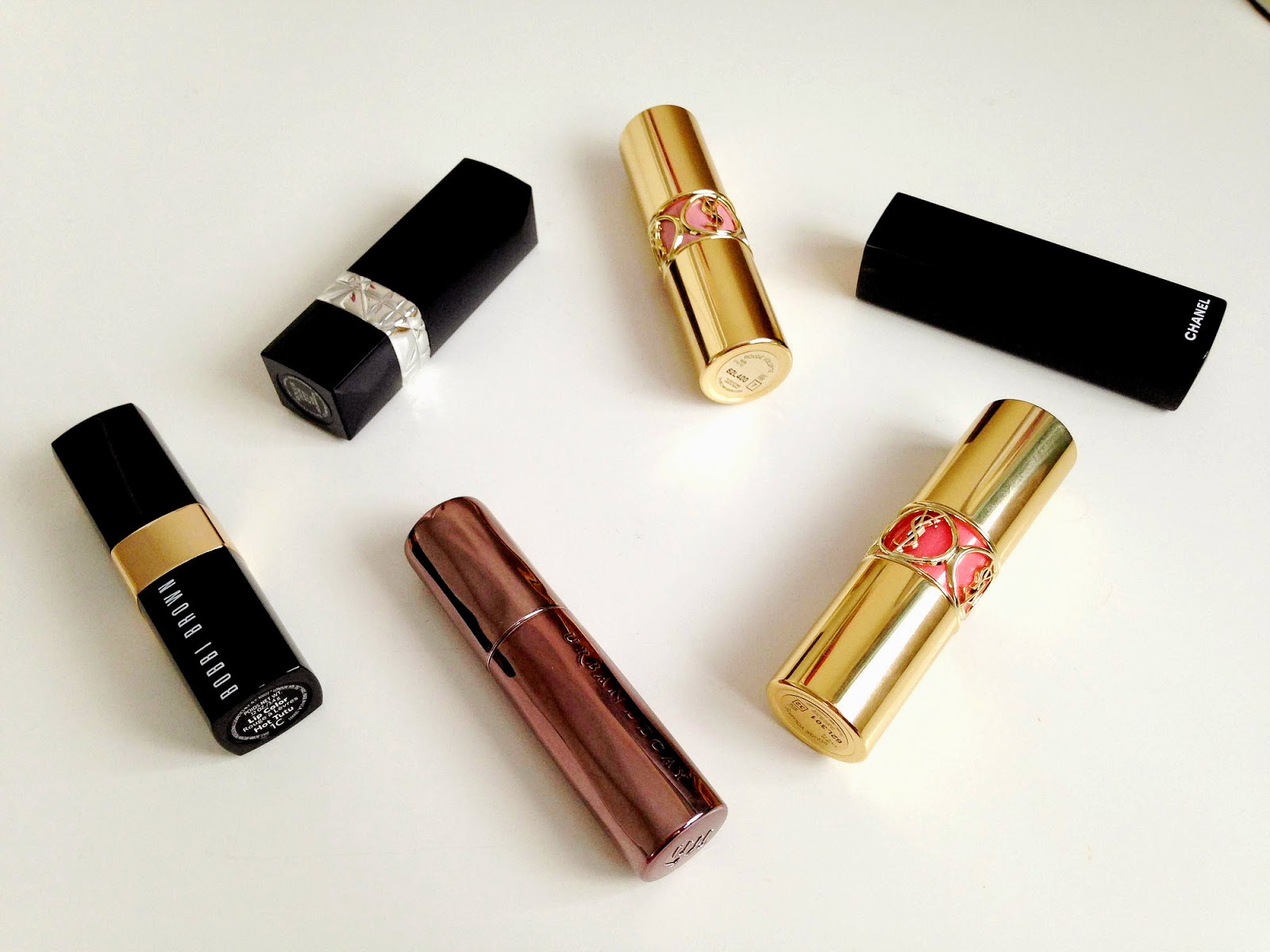 High End Lipstick Purchases