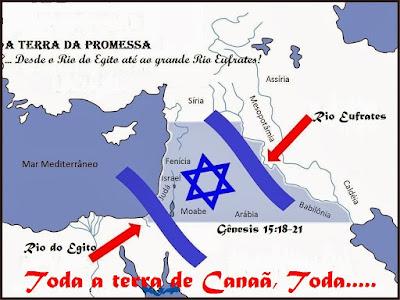 Terras que Deus deu a Israel
