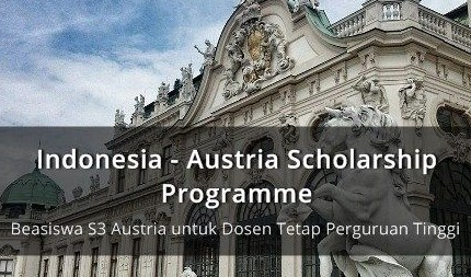 Program IASP Beasiswa S3 di Austria 2019