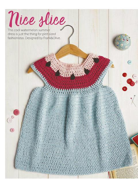 orgu bebek elbise modeli