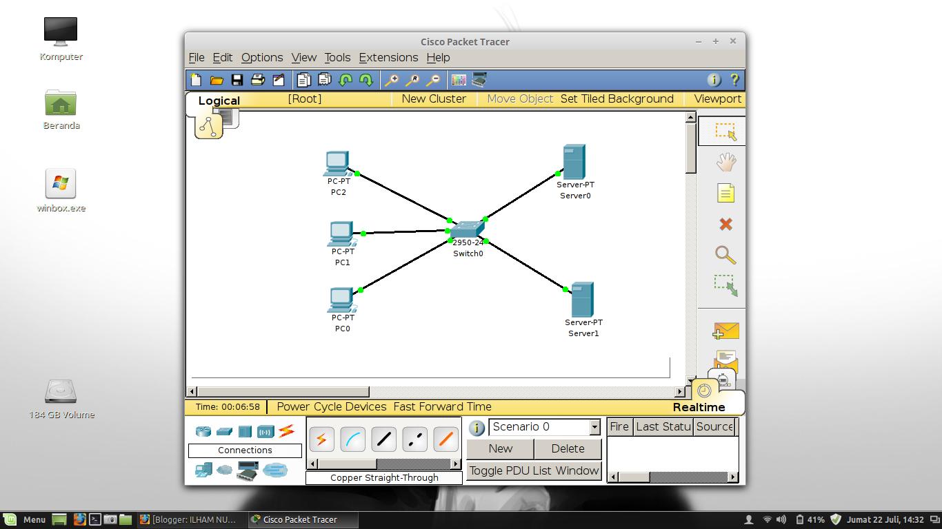 Tutorial Cara Membuat Simulasi Server DNS pada Jaringan ...