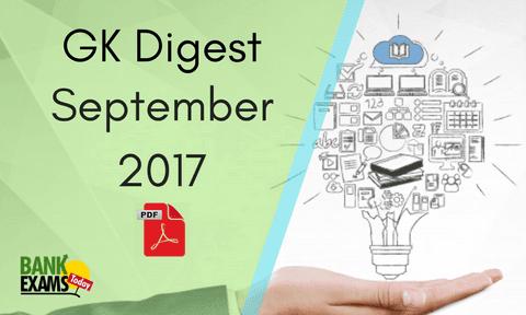 GK Digest september