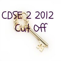 CDS 2 2012 Cutoff Marks CDS 2 Answer Key 2012  Paper 1st, 2nd and 3rd Solution