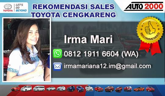 Rekomendasi Sales Toyota Cengkareng Jakarta Barat