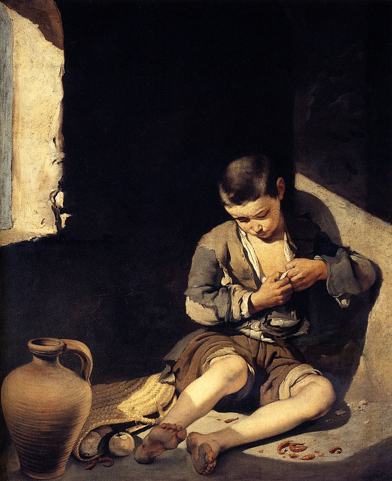 The Young Beggar, c. 1645, Musée du Louvre, Paris, France