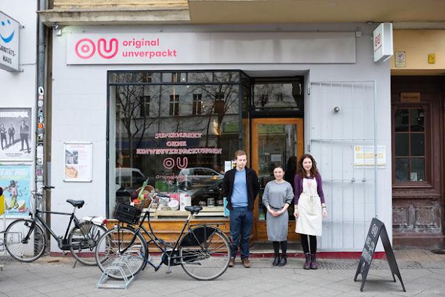 Cửa hàng Original Unverpackt ở Berlin, Đức, AmyPrint