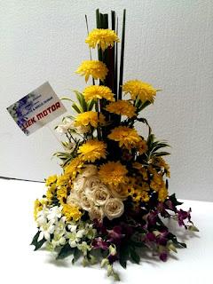rangkaian bunga meja surabaya33